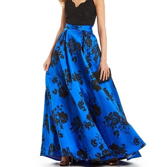 90e651b2920a B Darlin Dresses | Prom Dress Gown Size 56 Royal Blue Black | Poshmark